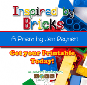 Inspired by the Bricks: a lego stop action and poem.