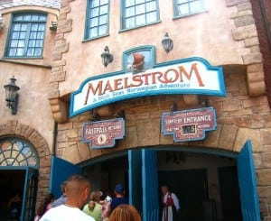 maelstrom at epcot www.wordtraveling.com