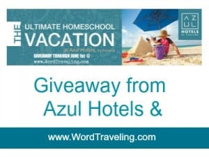 The Ultimate Homeschool Vacation GIVEAWAY- (through June 1) over $2500.00 value!
