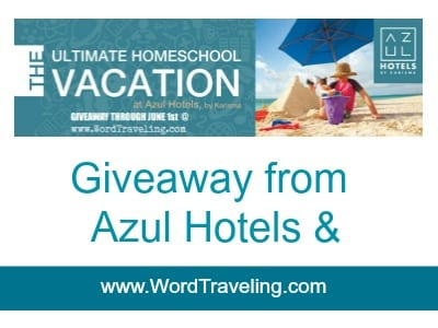 Homeschool vacation giveaway