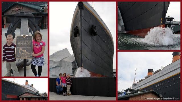 titanic collage