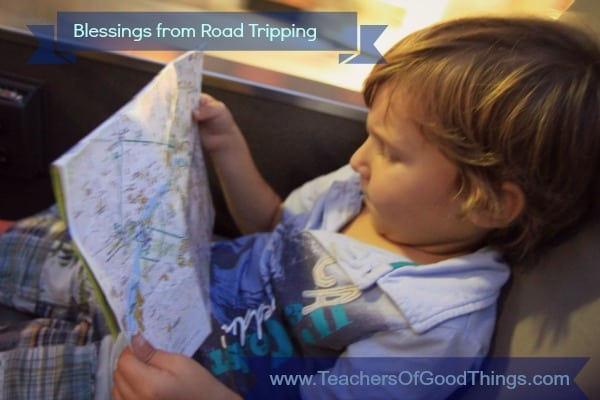 blessings from road tripping teachers of good things