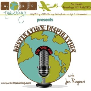Destination: Inspiration, a weekly travel podcast show, coming soon!