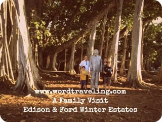 edison ford family visit