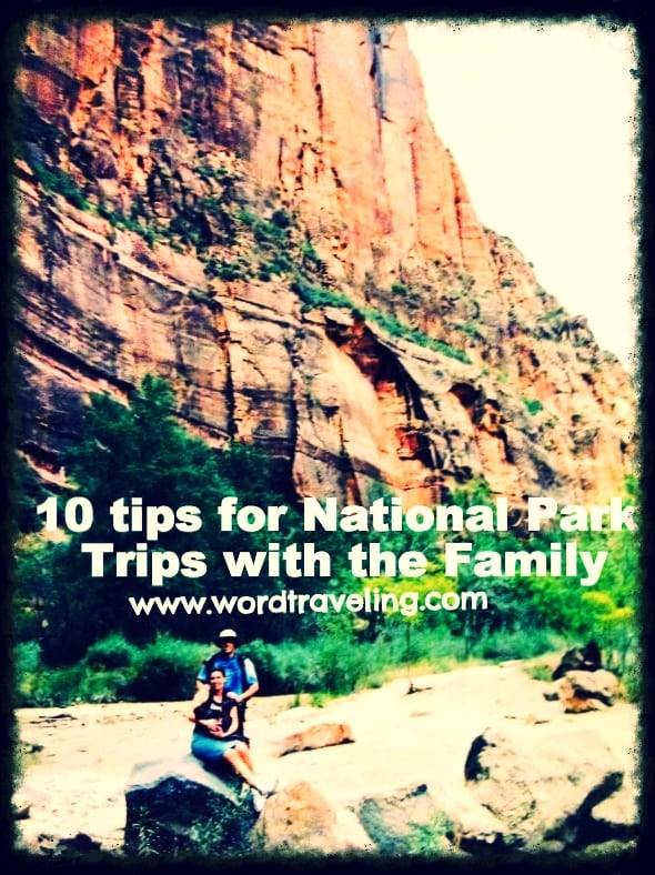 visiting national parks with your family