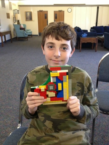 Teaching Lego Art