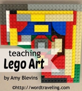 Teaching LEGO Art with Free Printable Lesson Plan!