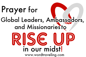 Ambassadors of Christ! May our homes be embassies for God's Kingdom!