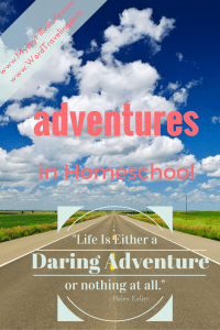 Adventures in Homeschool- A to Z's of Homeschool