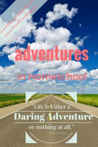 Adventures in Homeschool- A to Z's of Homeschool