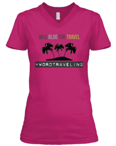 Will blog for travel tee