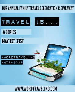 Travel is blog series and giveaway at WordTraveling.com