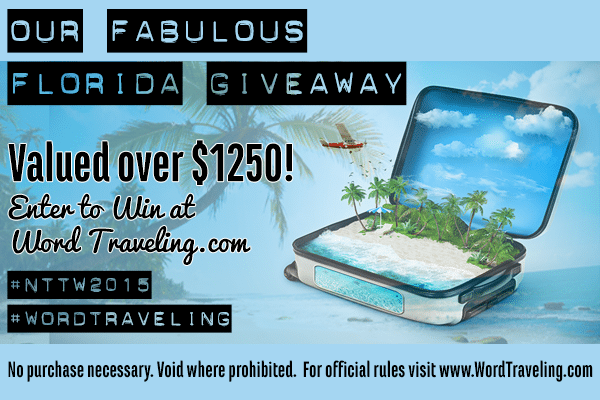 Word Traveling Giveaway 2015 #wordtraveling #nttw2015