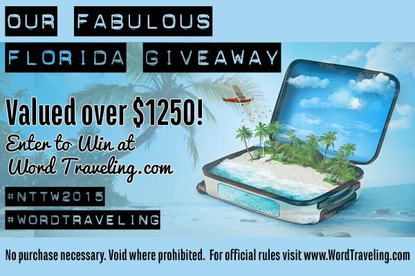 Word Traveling Giveaway 2015 #wordtraveling #nttw2015