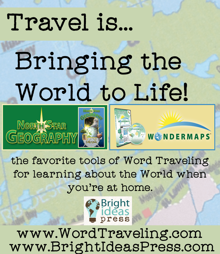 Bright Ideas Press Wonder Maps Sponsor of the Travel is series on Wordtraveling.com #NTTW
