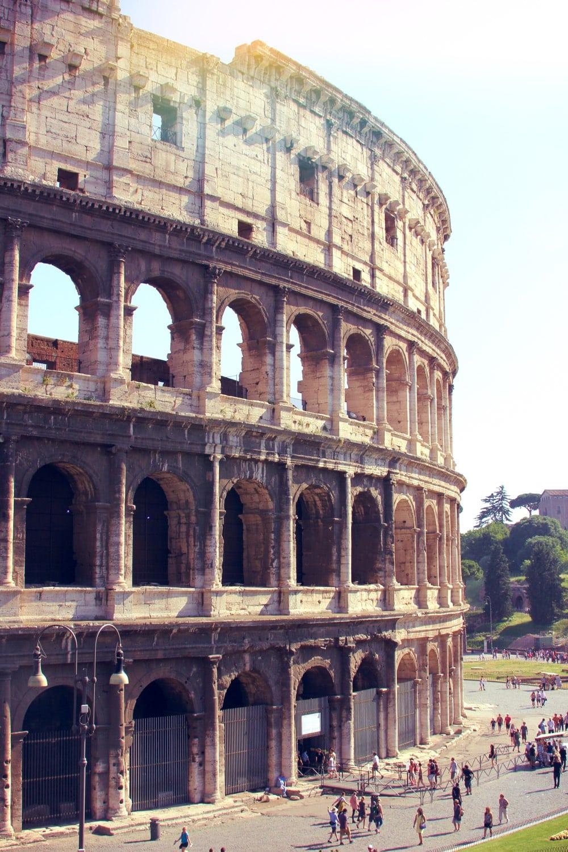 Colosseum Vintage via Wordtraveling.com #NTTW