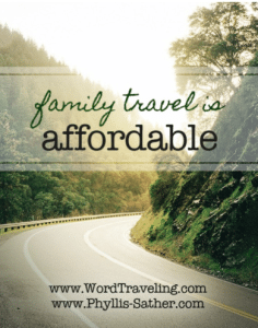 Family Travel is Affordable