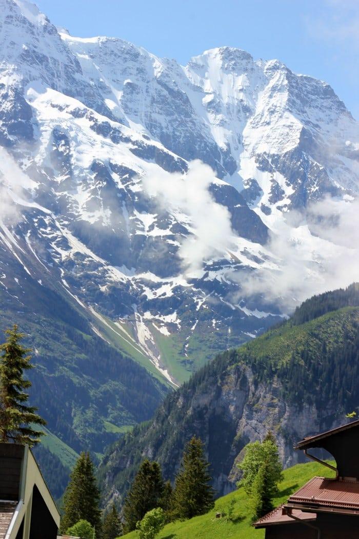 Swiss Alps #NTTW via WordTravling.com