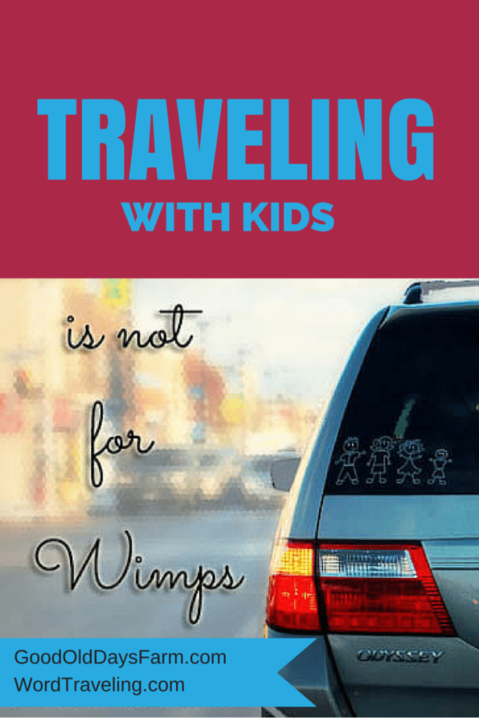 Traveling with Kids: 35 Tips so You Can Have Fun Too via WordTraveling.com #NTTW