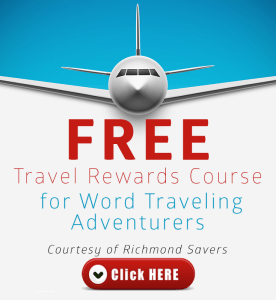 Free Travel Rewards Course via WordTraveling.com #NTTW