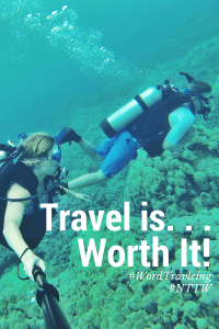 Traveling is…