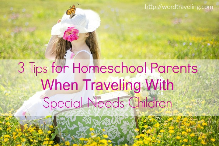 3 Tips for Homeschool Parents When Traveling With Special Needs Children https://wordtraveling.com Gain a bit of insight from this post about #travel with #specialneeds kids!