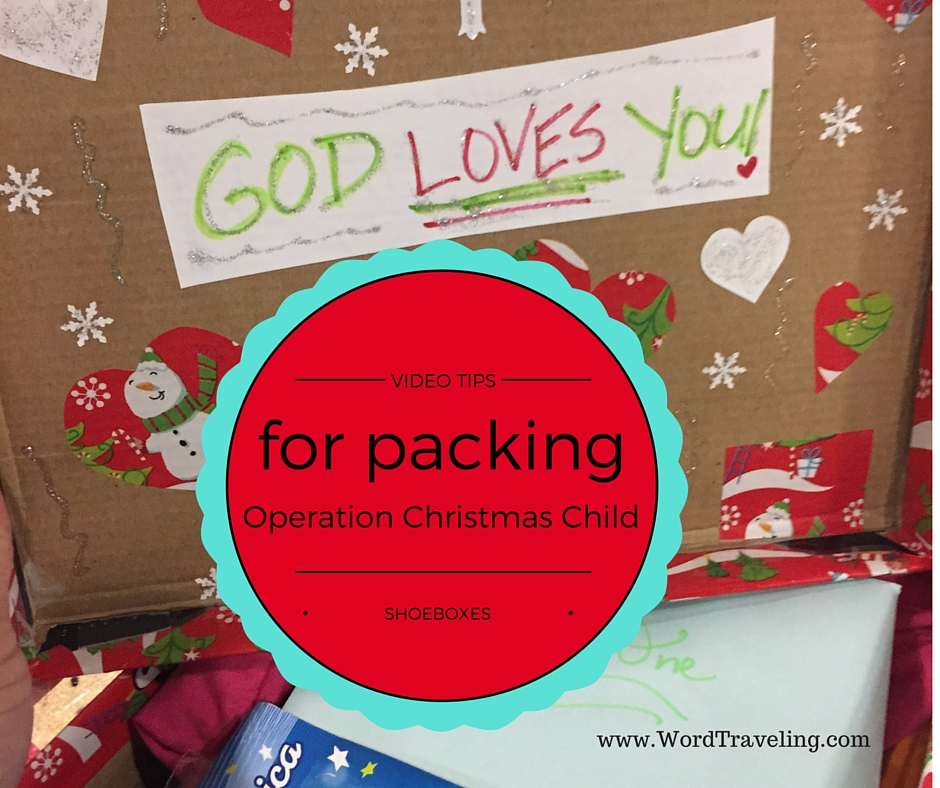 Tips for Packing Operation Christmas Child Boxes VIDEO
