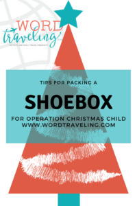 (VIDEO) Tips for Packing a ShoeBox for Operation Christmas Child- Behind the Scenes