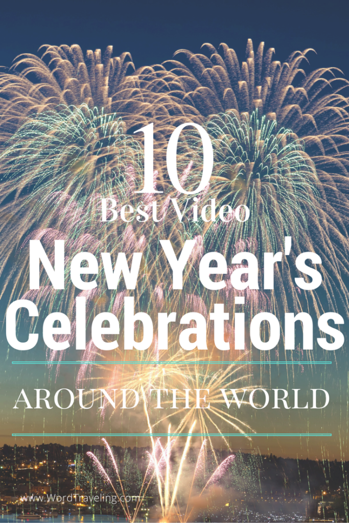 Top Ten New Year's Fireworks Celebration from Around the World VIDEOS