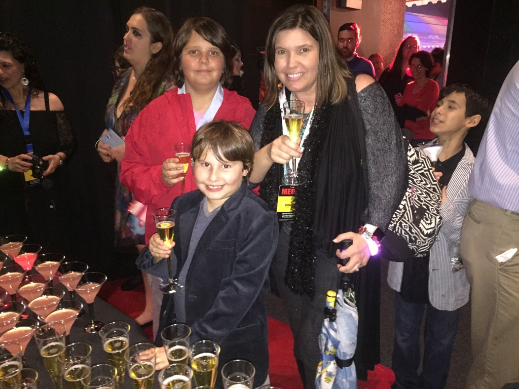 VIP party for LEGO Movie 4D: A New Adventure