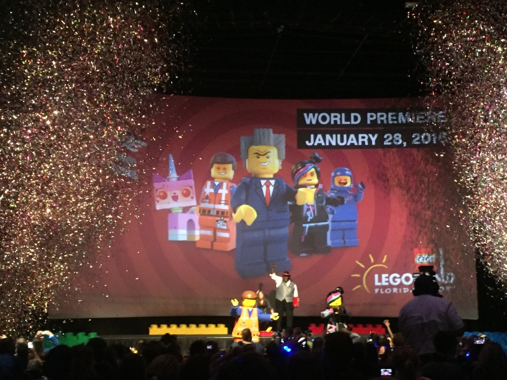 The Lego Movie 4D at LEGOLAND Florida