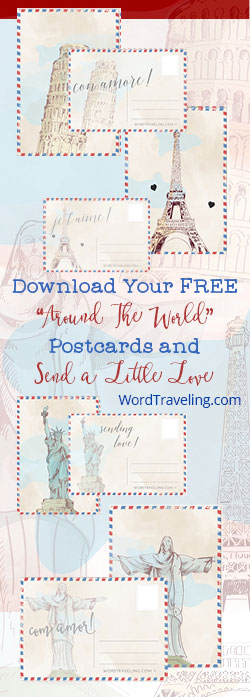 Printable Vintage Postcards