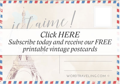 Free printable postcards