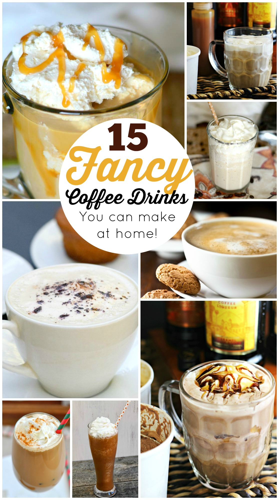 15 Fancy Up Do Tutorials: 15 Fancy Coffee Drinks You Can Make At Home (DIY)