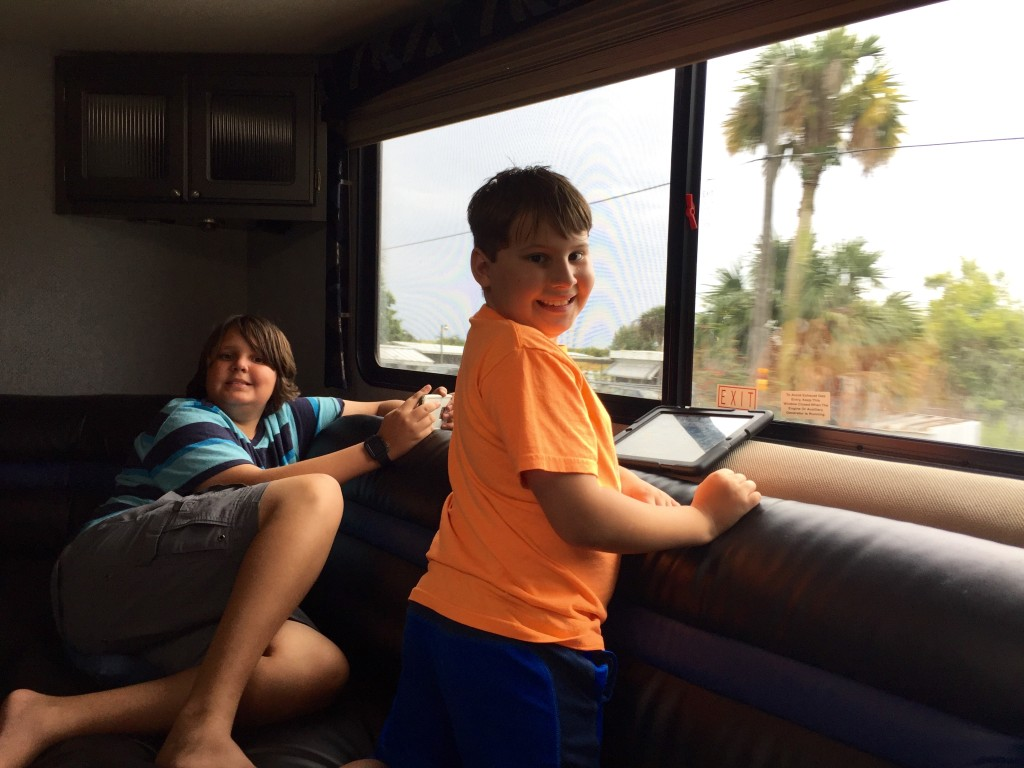 reconnecting with family in an RV