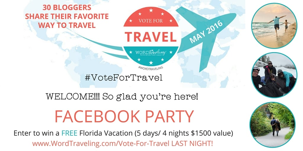 facebook party page word traveling