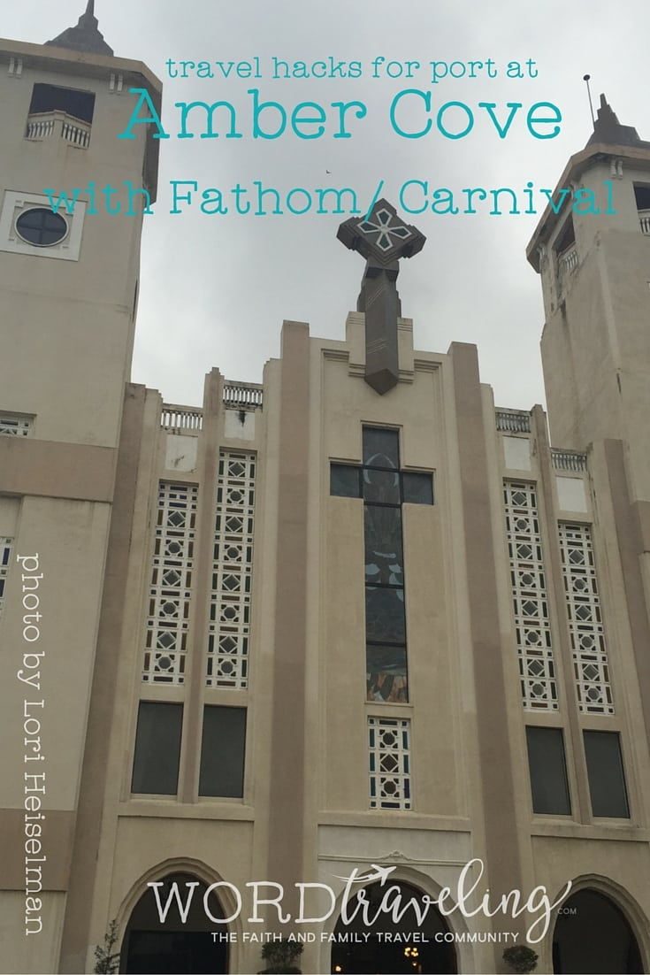 Cathedral in Puerto Plata Dominican Republic travel tips adonia fathom cruise