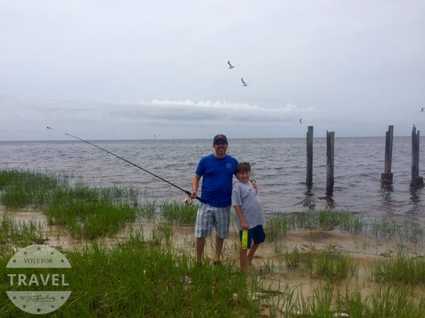 fishing at St. Marks Florida
