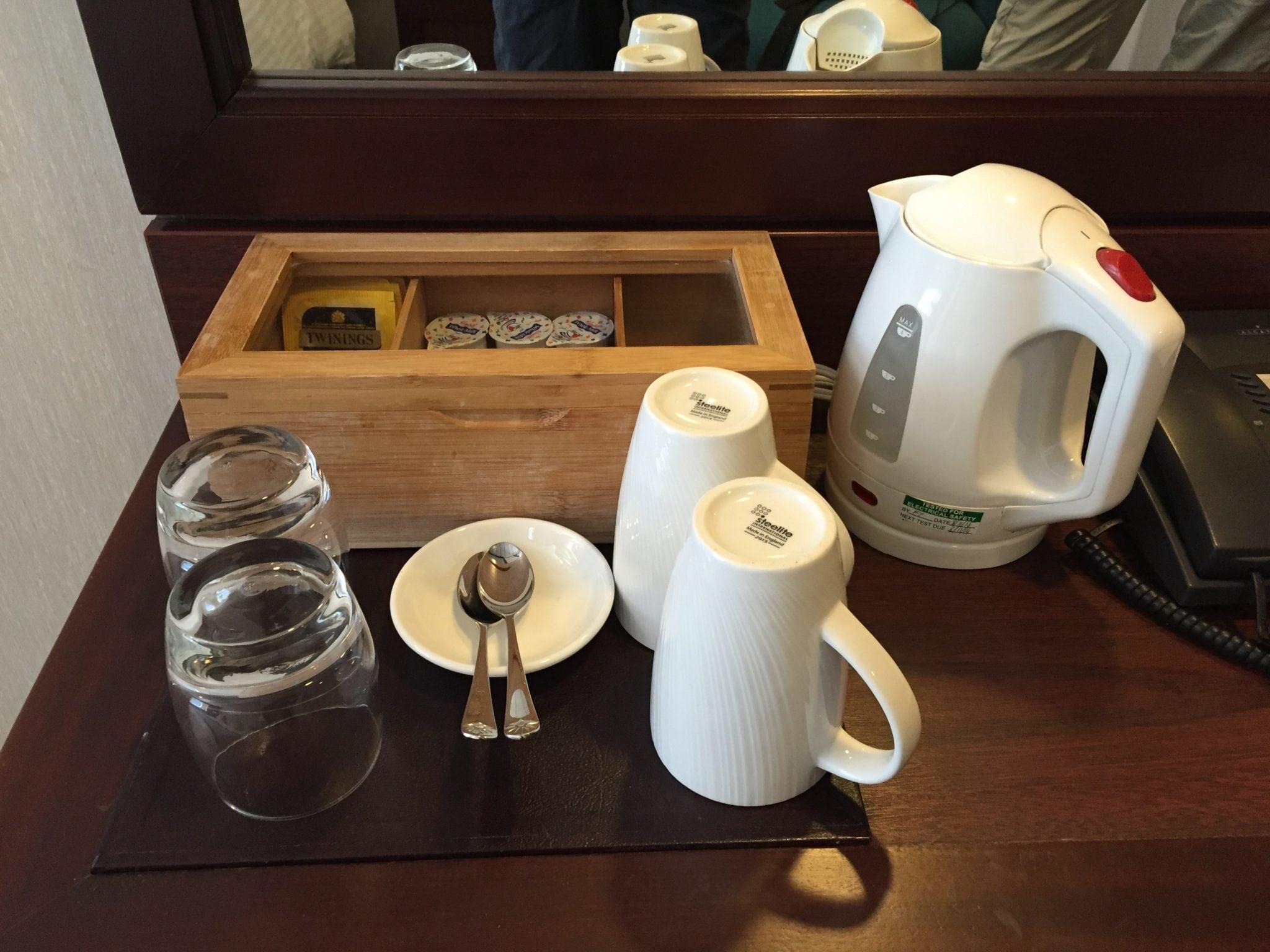 tea/ coffee onboard adonia cruise travel tips