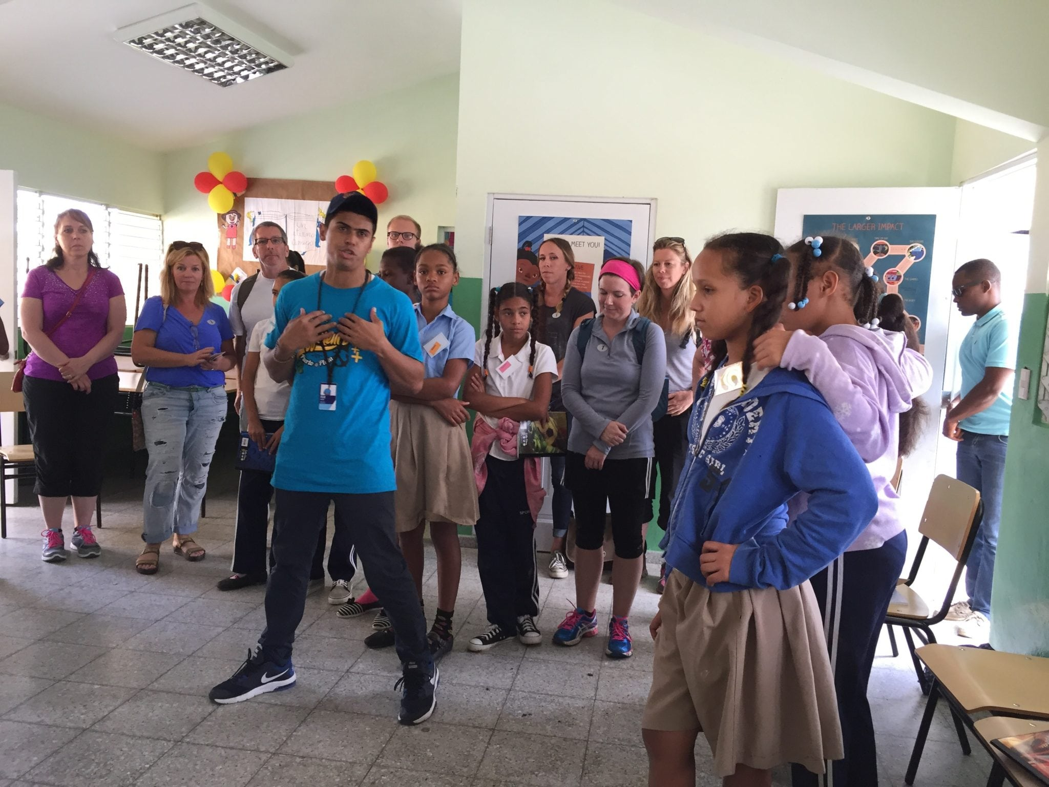 school impact activity with fathom cruises in dominican republic travel tips