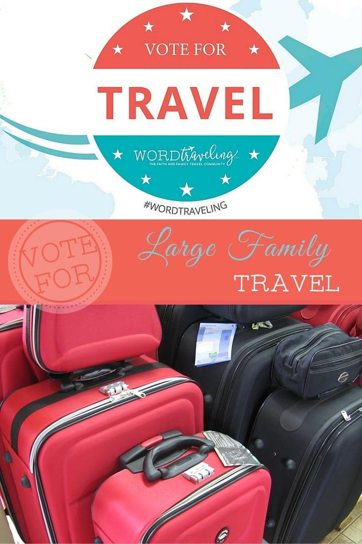 Large Family Travel