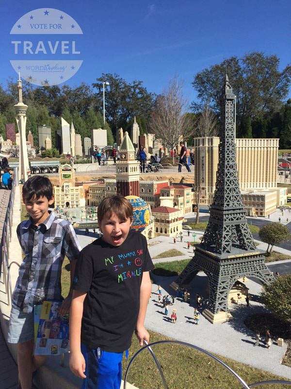 paris at legoland miniland