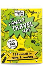 Lonely Planet's My Family Travel Map