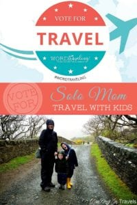 Vote for Solo Mom Travel with Kids