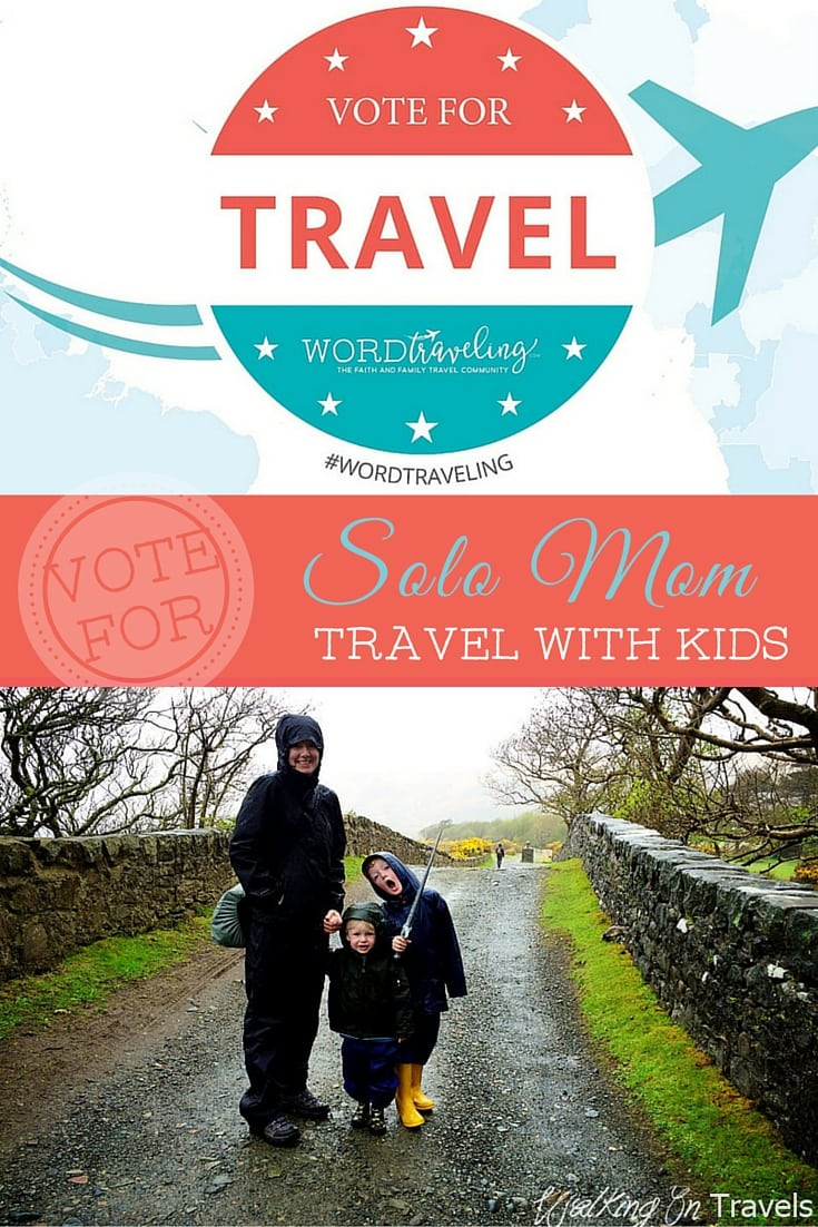 Solo Mom Travel with Kids