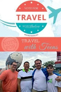 Vote For Travel with Teens