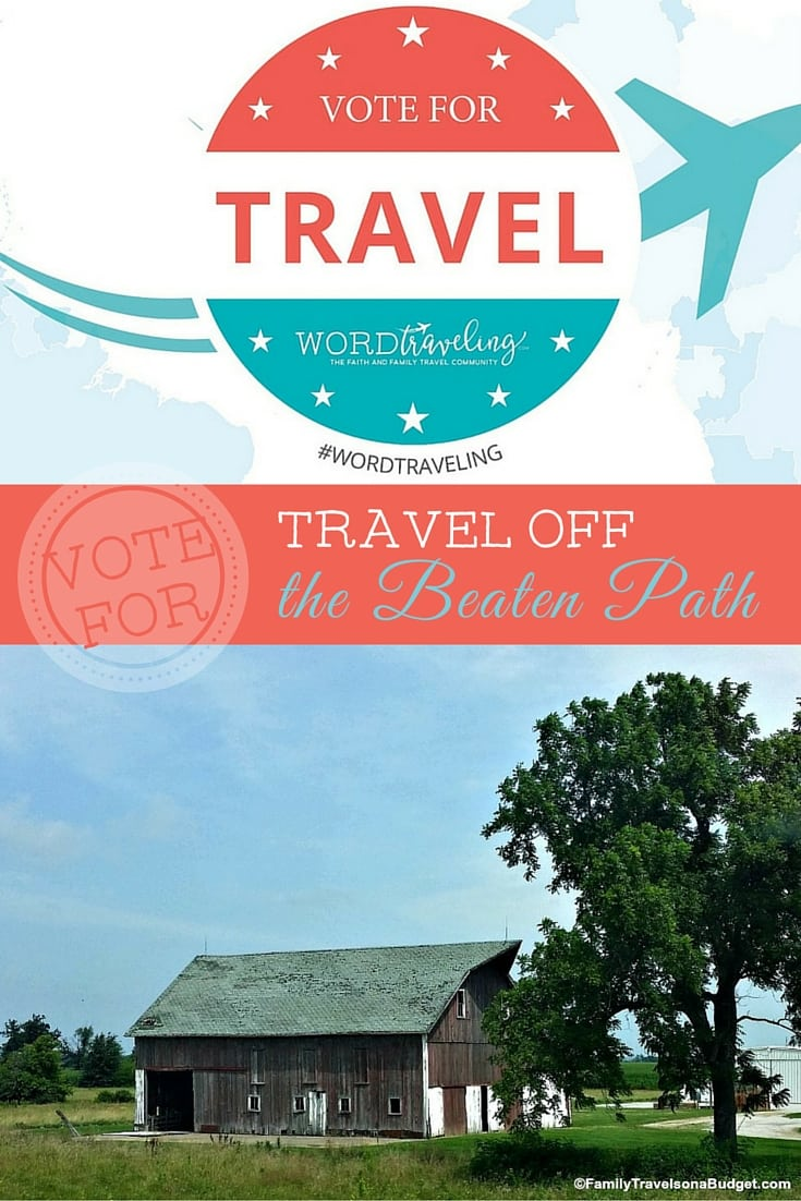 Vote for Travel off the beaten path