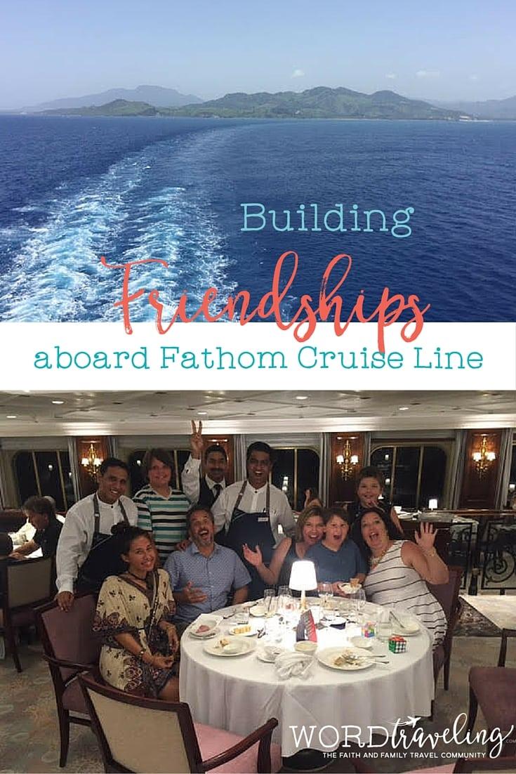 Building Friendships onboard Fathom Adonia
