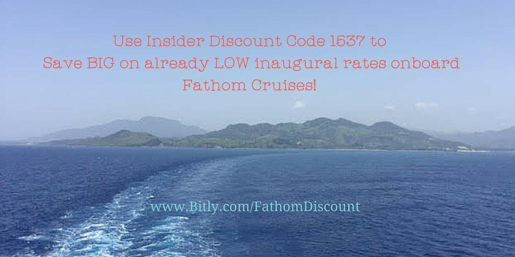 Fathom Cruise Discount Code