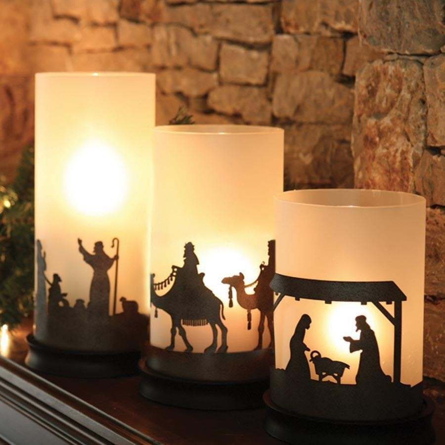 Reset for a restful christmas rush giveaway word traveling for Christmas candle displays